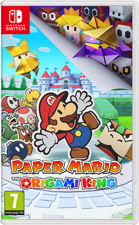 Paper Mario: The Origami King/Gallery