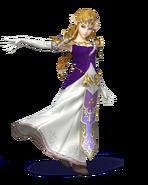 SSB4 Sprite Zelda 3