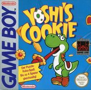 Yoshi's Cookie - Jaquette GB