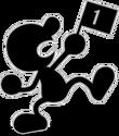 SSBU Artwork Mr. Game & Watch