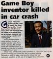 108px-Gunpei Yokoi Death Article