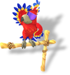 DKCTF Artwork Tawks der Papagei.png