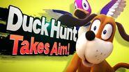 SSB4 Screenshot Charakter-Einführung Duck Hunt Duo