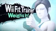 SSB4 Screenshot Charakter-Einführung Wii Fit-Trainerin