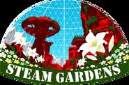 Seam Gardens Sticker