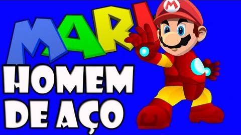 Iron Mario - Chapeu de Ferro XD