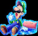 M&L4 Artwork Luigi schläfrig