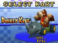 MKDS Rambi Rider Screenshot