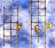DKC2 Screenshot Schlotter-Mast 9