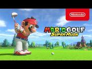 Macht euch bereit zum Abschlag mit Freunden und Familie in Mario Golf- Super Rush (Nintendo Switch)