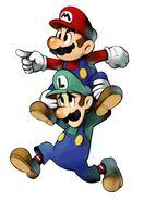M&L Artwork Mario & Luigi 3