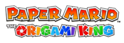 Logo - Paper Mario The Origami King.png