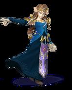 SSB4 Sprite Zelda 2