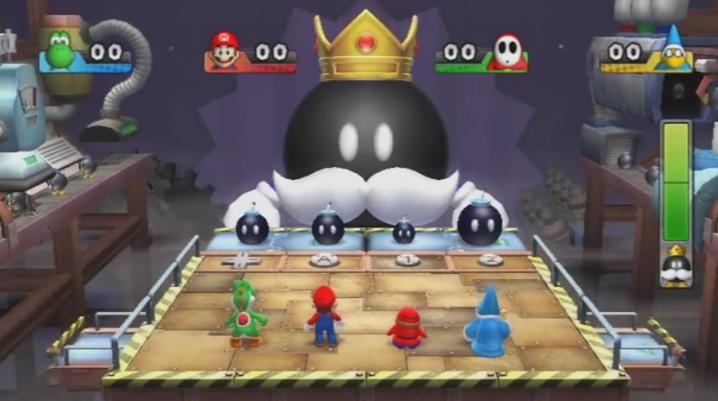 Bombard King Bob-omb