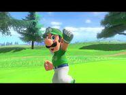Mario Golf- Super Rush Special Shot + Special Dash – Luigi