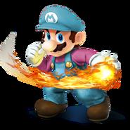 SSB4 Sprite Mario 4