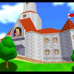 Peach's Castle - Overview - Super Mario 64.png