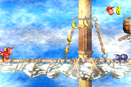 DKC2GBA Screenshot Schlotter-Mast