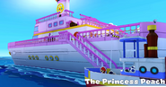 Paper Mario the Princess Peach ship PM Origami King