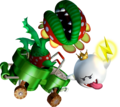 Petey Piranha and King Boo - Mario Kart Double Dash