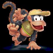 SSB4 Sprite Diddy Kong 6