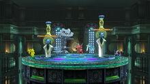 SSB4 Screenshot Kalos-Pokémon-Liga Eisenwerkkammer.jpg