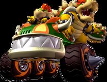 Bowser and Bowser Jr - Mario Kart Double Dash