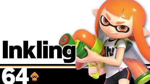 64- Inkling – Super Smash Bros