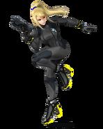 SSB4 Sprite Zero Suit Samus 1