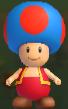 Toad Azul de Fuego