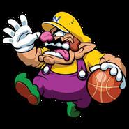 Mario Slam Basketball -Wario