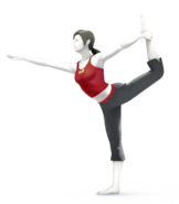 SSB4 Sprite Wii Fit-Trainer 7