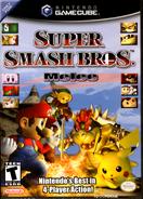 Super Smash Bros. Melee - North American Boxart