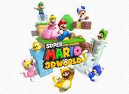 Nintendo, Super Mario 3D World, Artwork