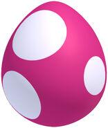 NSMBU Artwork Pinkes Baby-Yoshi-Ei