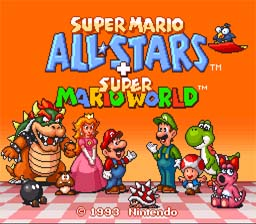 Super Mario All-Stars + Super Mario World