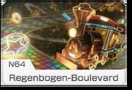 MK8 Screenshot Regenbogen-Boulevard (N64) Icon