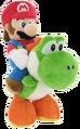 Mario et Yoshi (peluche)