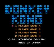 Title Screen - NES - Donkey Kong.png