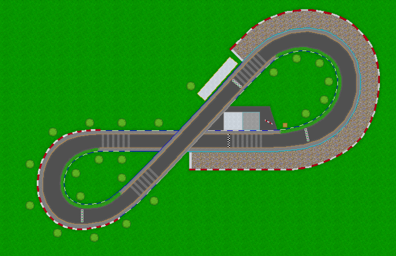 Circuit en 8