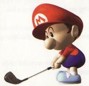 MG64 Artwork Baby Mario 3