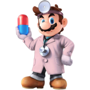 SSB4 Sprite Dr. Mario 7