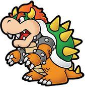 Super Paper Mario Bowser