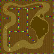 Île Choco 2 - SMK (parcours)