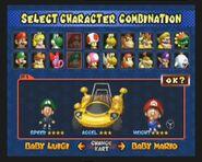 Kart Desfile características MKDD