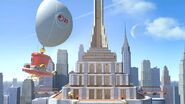 New Donk City - SSBU (toit de l'hôtel)