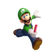 M&S3 Artwork Luigi