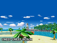 Playa Cheep Cheep MKDS