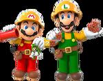 SMM2-Mario&Luigi