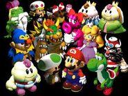 Mario y sus amigos